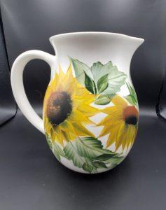 Sunflower pitcher