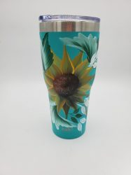 Teal Sunflower